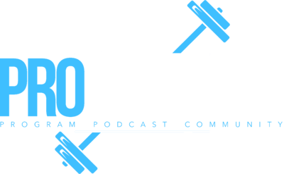 pro fitness logo white