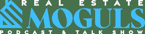 real estate moguls podcast and talk show logo