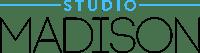 studio madison logo black