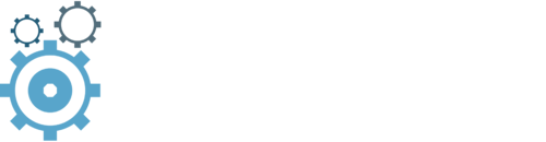 the science of business development logo white