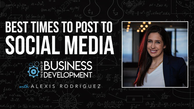 tsobd - Best Time to Post to Social Media with Alexis Rodriguez