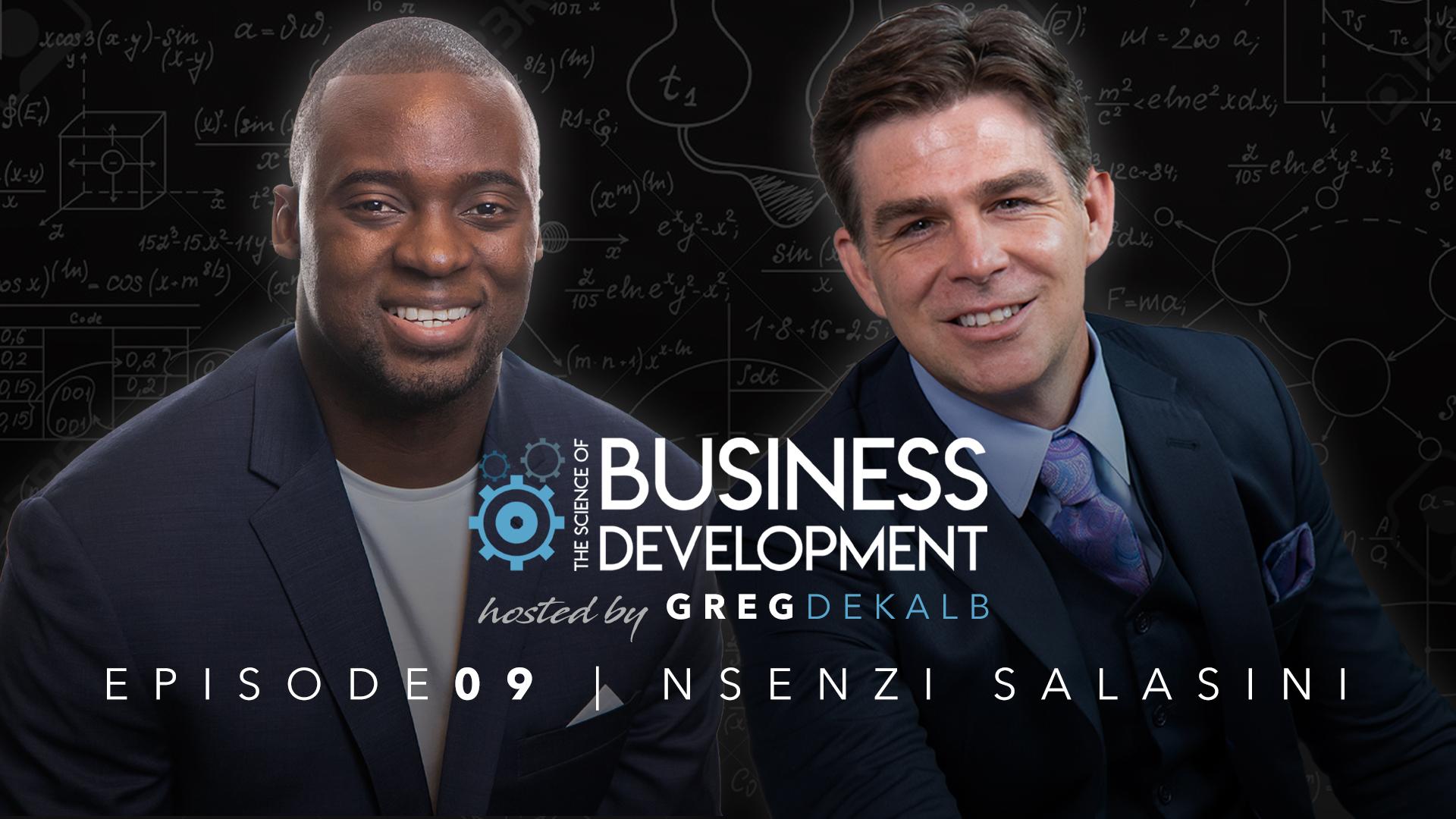 TSOBD Greg DeKalb with Nsenzi Salasini