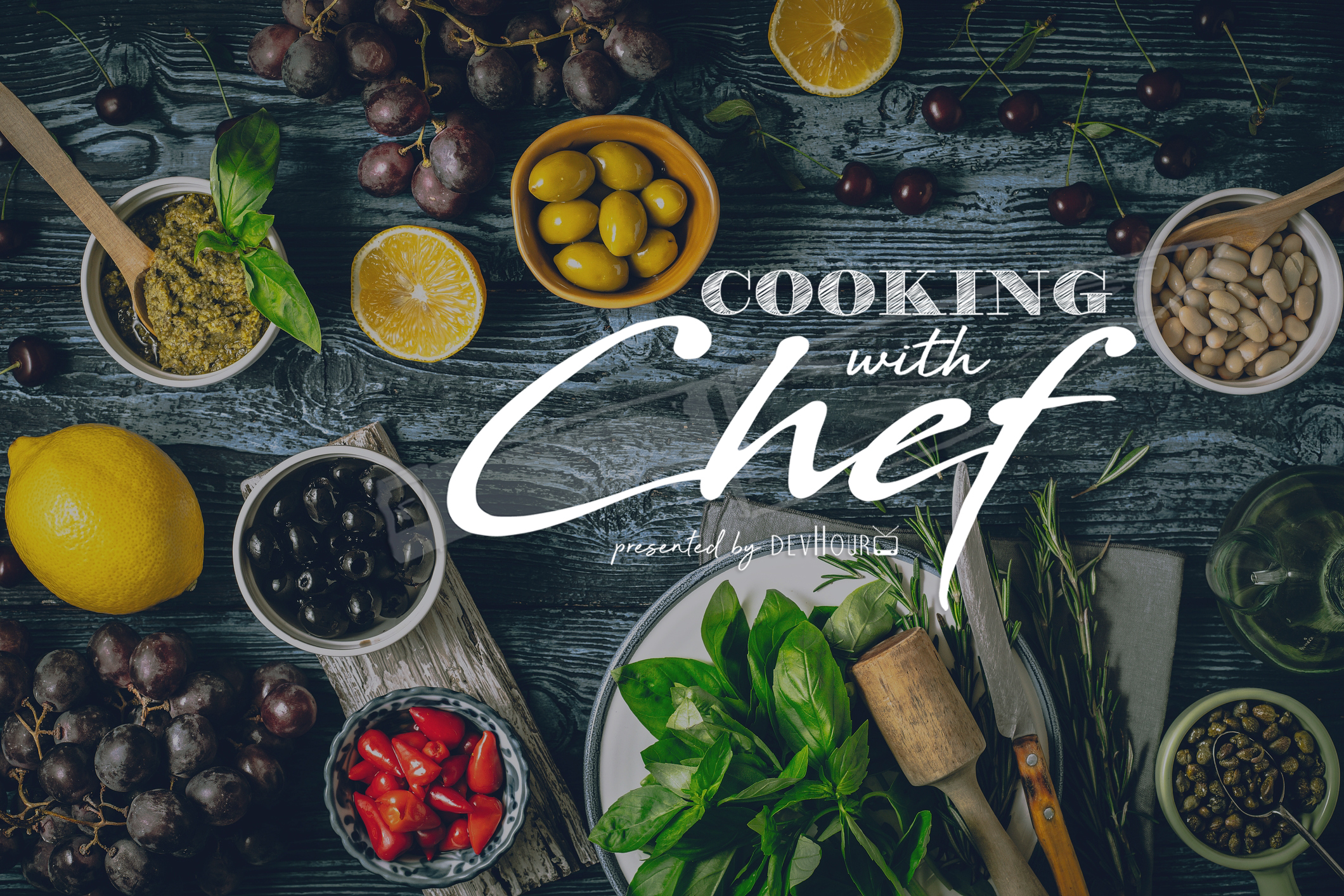 devHour - cooking with chef cover image